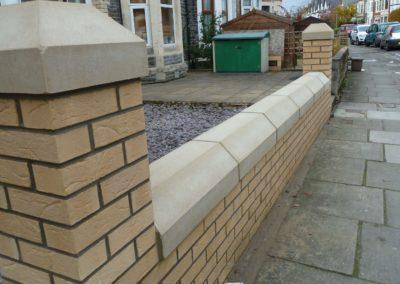 garden walls Leeds, garden walls York